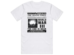 "Cult ""WW3"" T-Shirt"