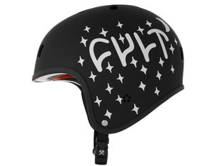 "Cult X S1 ""Retro Lifter"" Helm - Black"