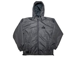 "DUB BMX ""Anfield"" Windbreaker Jacket - Dark Grey"