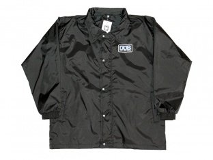 "DUB BMX ""CNS Coach"" Windbreaker Jacket - Black"