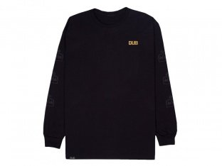 "DUB BMX ""Crown"" Longsleeve - Black"