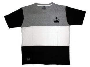 "DUB BMX ""Mono"" T-Shirt - Grey/White/Black"