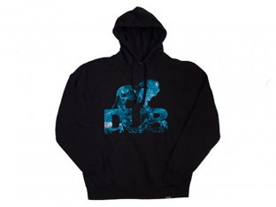 "DUB BMX ""Smokey"" Hooded Pullover - Black"