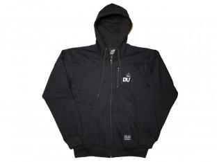 "DUB BMX ""Stash"" Hooded Zipper - Black"