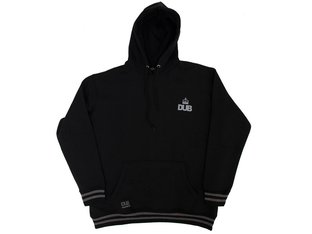 "DUB BMX ""Stealth"" Hooded Pullover - Black"