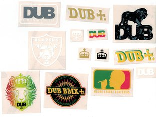 DUB BMX Stickerset