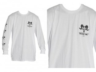 "Demolition ""Ram"" Longsleeve - White"
