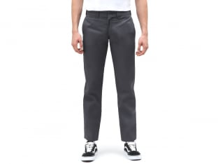 "Dickies ""873 Slim Straight Work"" Hose - Charcoal Grey"