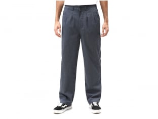 "Dickies ""Clarkston"" Plissee Hose - Blue"