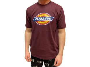 "Dickies ""Icon Logo Tee"" T-Shirt - Maroon"