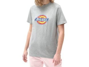 "Dickies ""Icon Logo Tee Woman"" T-Shirt - Grey Melange"