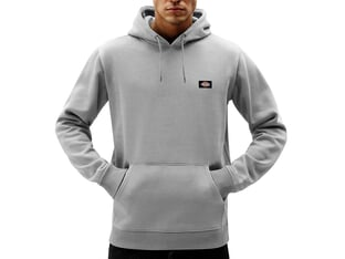 "Dickies ""Oakport"" Hooded Pullover - Grey Melange"