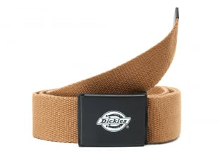 "Dickies ""Orcutt Webbing"" Belt - Brown Duck"