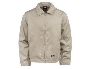 "Dickies ""Unlined Eisenhower"" Jacket - Rinsed Khaki"