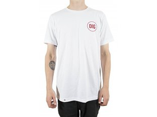 "Dig BMX Magazine ""Circle"" T-Shirt - White"