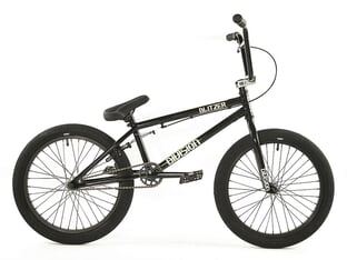 "Division BMX ""Blitzer"" 2021 BMX Bike - Metal Grey / Polished"
