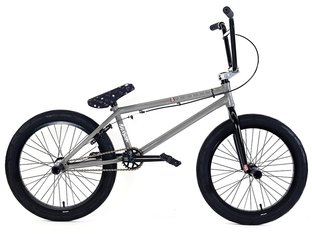 "Division BMX ""Fortiz"" 2018 BMX Bike - Battleship Grey/Polished"