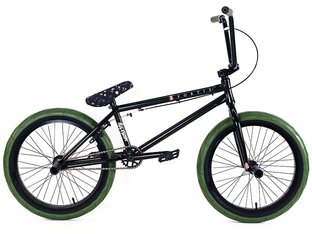 "Division BMX ""Fortiz"" 2018 BMX Bike - ED Black/Army Green"