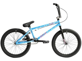 "Division BMX ""Reark"" 2021 BMX Bike - Crackle Blue"