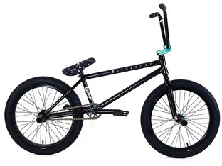 "Division BMX ""Spurwood"" 2018 BMX Rad - ED Black/Matte Teal 