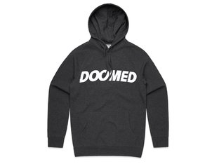 "Doomed Brand ""Archie"" Hooded Pullover - Asphalt Grey"
