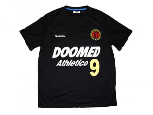 "Doomed Brand ""Athletico 9"" Trikot Shirt - Black"