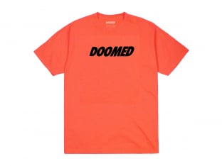 "Doomed Brand ""Basic Logo"" T-Shirt - Orange"
