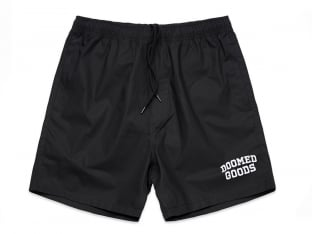 "Doomed Brand ""Beach"" Kurze Hose - Black"
