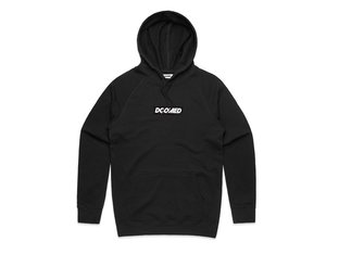 "Doomed Brand ""Box Logo"" Hooded Pullover - Black"