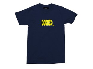 "Doomed Brand ""Bubs"" T-Shirt - Navy Blue"