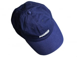 "Doomed Brand ""Call Me Daddy"" Cap - Navy"