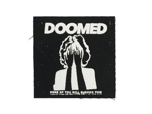 "Doomed Brand ""Doomed"" Patch"