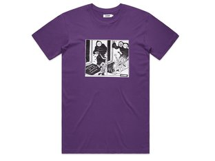 "Doomed Brand ""Doomed House"" T-Shirt - Purple"
