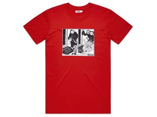 "Doomed Brand ""Doomed House"" T-Shirt - Red"