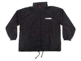"Doomed Brand ""Doomed"" Windbreaker Jacket - Black"
