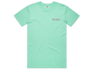 "Doomed Brand ""Drop"" T-Shirt - Aqua"