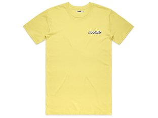 "Doomed Brand ""Drop"" T-Shirt - Lemon"