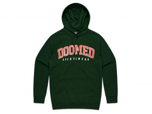 "Doomed Brand ""Dropout"" Hooded Pullover - Forest"