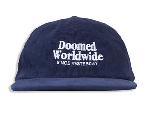 "Doomed Brand ""Duf 6 Panel Cord"" Kappe"
