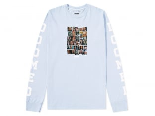 "Doomed Brand ""Establishment"" Longsleeve - Light Blue"