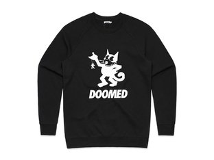 "Doomed Brand ""Felix Sweater"" Pullover - Black"