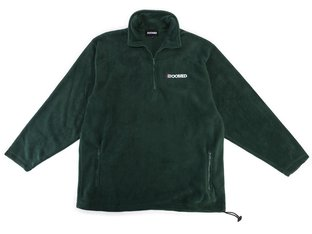 "Doomed Brand ""Fleeced Half Zip"" Pullover - Green"
