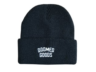"Doomed Brand ""GOODS"" Beanie Mütze - Black"
