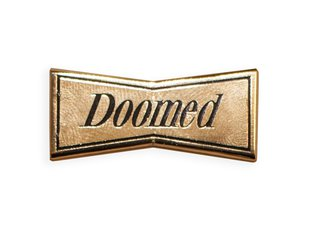 "Doomed Brand ""Gold Enamel"" Anstecker Pin"