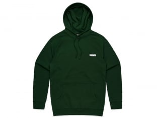 "Doomed Brand ""Good Evil Shit Dumb"" Hooded Pullover - Forest"