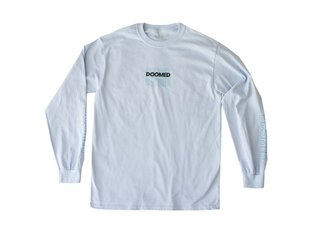 "Doomed Brand ""LAD"" Longsleeve - Light Blue"