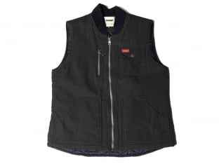 "Doomed Brand ""Labor"" Vest - Black/Grey"