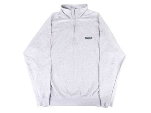 "Doomed Brand ""Lightweight Quarter Zip"" Pullover - Grey"