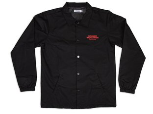 "Doomed Brand ""Love Us Coach"" Jacket - Black"