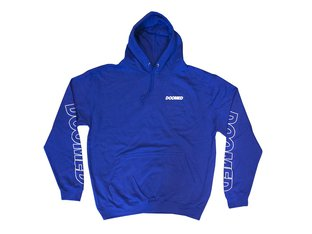 "Doomed Brand ""Marked"" Hooded Pullover - Royal Blue"